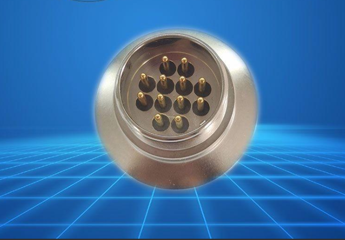 12芯KF25法兰玻璃烧结插座